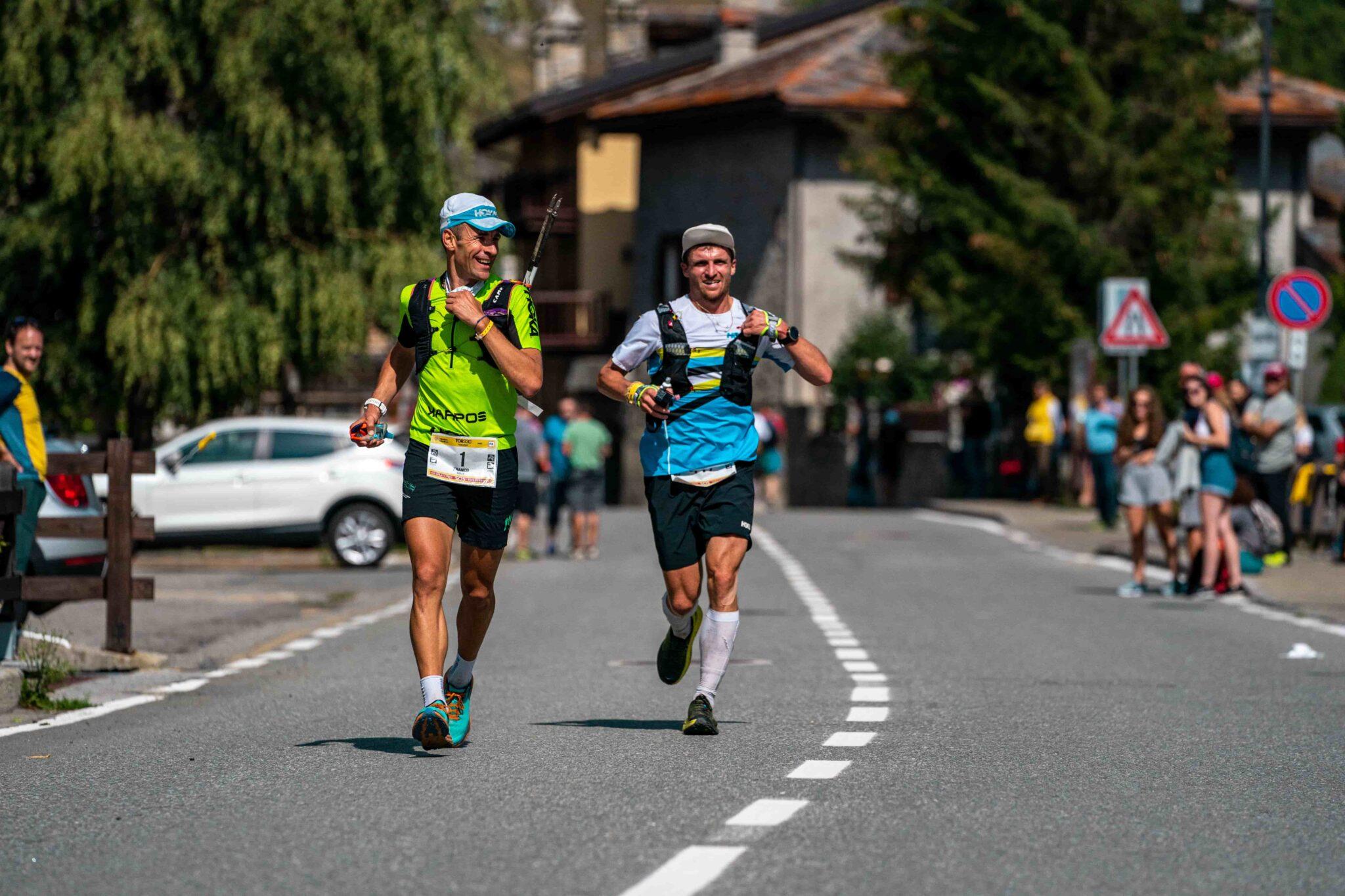 Franco e Collé e Jonas Russi corrono al Tor des Géants