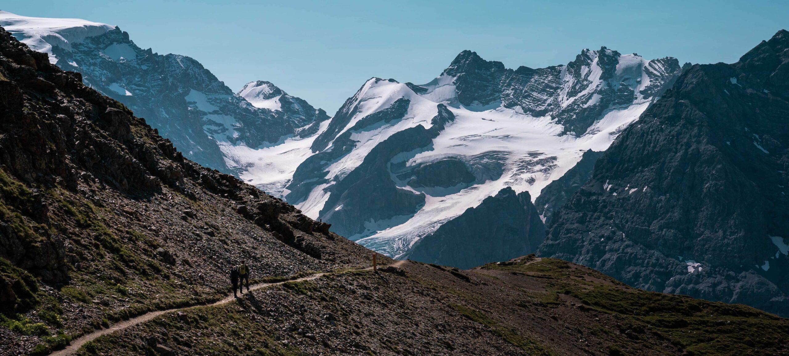 Trekking in Montagna sulla via dell'Ortles