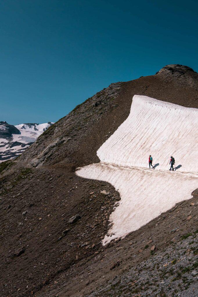 Escursione sull'alta via dell'Ortles